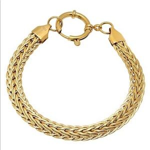 🌸🌸🌸 18k Gold Plated Wheat Chain Bracelet 🌸🌸🌸